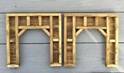 O Scale , O Gauge Tunnel Portals - Timber Framed / Train Scenery / Set Of 2