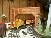 O Scale , O Gauge Double Track Timber Framed Train Tunnel Portals -set Of 2