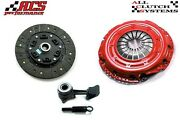 Acs Stage 2 Clutch+slave Cyl 2000-04 Ford Focus S2 Se Zts Ztw Zx3 Zx5 2.0l Dohc