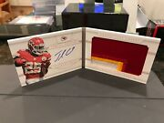 National Treasures Autograph Jersey Booklet Chiefs Jamaal Charles 23/25 2013