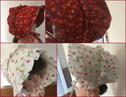 Vintage 1983 Baby Girl Amish Like Bonnets Hat Clothes