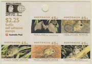 1992 Threatened Species Sheetlet. Columbus Stamp Expo Imperforate. Muh. Bw.156ca