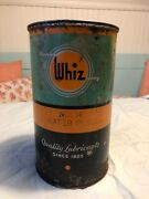 Hollingshead Whiz Water Pump No. 18 Grease Can Lubricant- Half Full
