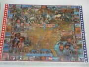 The Civil War 1000 Piece Jigsaw Puzzle White Mountain Puzzles 1994 Sealed
