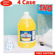 4/1 Gallons Premium Carnival King State Fair Pineapple Snow Cone Syrup