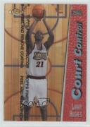 1998-99 Topps Finest Court Control Refractors Proofs Larry Hughes Cc16 Rookie