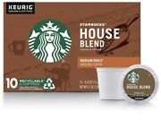 Starbucks House Blend Single Serve Cups 6x10 60 Cups Past Best If Used By Date