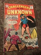 1963 Dc Challengers Of The Unknown Comic Andldquomulti Woman Queen Of Disaster No.34