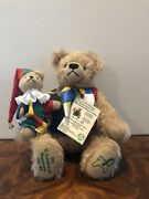 Collectible German Hermann Bear With Puppet No. 39/100