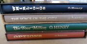 O. Henry 4 Hardcover Lot Of Books Options Whirligigs Four Million Voice Of City
