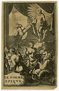 Antique Print-frontispiece-allegory-classical History-anonymous-ca. 1700