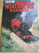 History Of Model Miniature Railways Part 3 Hornby Meccano Lines For Live Steam