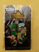 Disney Pin 80281 Wdi Lamppost Series 1 Mr Toad And The Mad Hatter Le 300