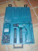Makita 6011d Cordless Drill Driver W/ Charger 2 Batteries Unstested As Is.