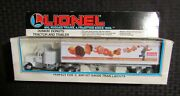 1992 Lionel Dunkin Donuts 12 Tractor Trailer Mib C-6.5 For 0 And 027 Gauge Trains