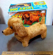 Lucky Dog Battery Operated Moving Toy Dog In Original Box Cute Toy Ages 6 And Up