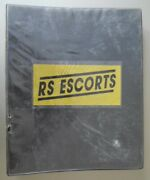 Ford Rs Escort Mexico Lever Arch Binder Full Of Magazine Articles Copy Brochures