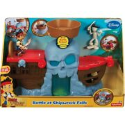 Vintage Jake And The Neverland Pirates Battle At Shipwreck Falls Ship Boat Toy