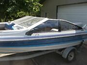 Bayliner Capri Windshield And Side Glass Sections Available Read Full Description