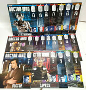 Doctor Who Eaglemoss Magazine Collection- Imported 5- Your Choice Of 20 Or Set