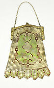 Antique Most Likely Whiting And Davis Mesh Art Deco Clutch Purse Circa 1920's