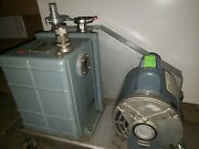 Welch Duo-seal Vacuum Pump Model 1402 Tested- Good Working Order 115v
