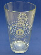 Beer Pint Glass 17th Annual Salida, Colorado Brewers Guild Rendezvous Cbg 2013