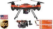 Splash Drone 3 Plus Bait Release Camera Pl3 And 1 Extra Battery 2 Extra Propellers