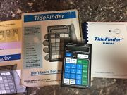 Tide Finder Tf-20-w Conex Electro Systems Tide And Current Computer + Manual Box