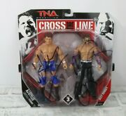 Tna Impact Wrestling Cross The Line Action Figures Aj Styles And Jeff Hardy Wwe