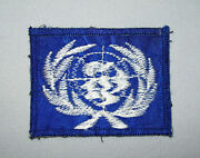 Old Vtg Ca 1970s Us Army Unit Shoulder Patch Korea Dmz Theater Made Unknown Nice