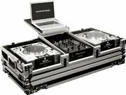 Marathon Ma-djcd10wlt Dj Equipment Coffin Holds 2 X Large Format Cd Players +