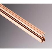 72 Plastic Sliding Door Track And Guide For Glass 1/8