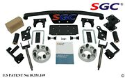Sgc 4 Spindle Extension Lift Kit For Club Car Golf Cart Ds Model 1982-2010