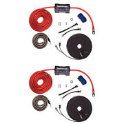 Rockford Fosgate 4 Awg Amplifier Power And Signal Installation Kit 2 Pack