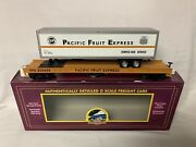 ✅mth Premier Pacific Fruit Express Flat Car And 40' Trailer Union Pfe