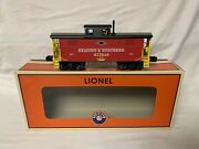 ✅lionel Reading And Northern Lighted N5 Caboose 6-85299 For Steam Diesel Engine