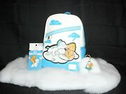 Disney Loungefly Hercules And Baby Pegasus With Key Chain And Card Holder Set New
