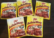 5x Frenchand039s Hot Buffalo Wings Seasoning Bag Pouch Mix Spice Lot Oven Roasted Htf