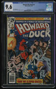 Howard The Duck 4 Cgc 9.6 W Pages Winky-man President Campaign Steve Gerber