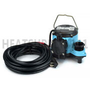 8-cia Automatic Sump Pump W/ Diaphragm Switch And 25and039 Cord 4/10 Hp 115v