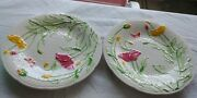 Gien Inalterable China Paint Main Pattern 8andrdquo Salad/dessert Plate Hard To Find