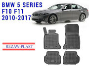 All Weather Floor Mats Liners Set For Bmw 5 Series F10 F11 2010-2017 3d Custom
