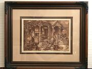 Scott Fitzgerald Victorian Antiques Limited Edition Print Signed And Numbered