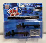 Mini Metals N Scale Elkins Logging Co. Ih R-190 Tractor / 32and039 Flat Bed Set 51183