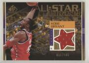 2003-04 Sp Game Used All-star Apparel Gold /100 Kobe Bryant Kb-as