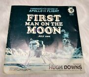 The Apollo 11 Flight First Man On The Moon 45 Collectible 1969 Mgm Records Vg
