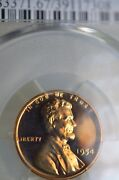 Pr67rd Cam 1954 Red Cameo Lincoln Penny Pcgs Graded Proof Very Rare Cameo Coin
