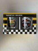 Collectable Bumble Bee Optimus Prime Tooth Pick Holders/shot Glass Transformers