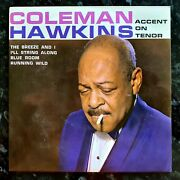 Coleman Hawkins - Accent On Tenor - Excellent Condition 1965 Arc 7 Ep